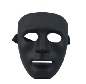 หน้ากาก jabbawockeez - หน้ากากJBสีดำ